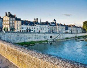 Loire river in Orleans.