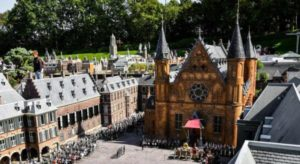 Madurodam next to the Scheveningse Forest in The Hague