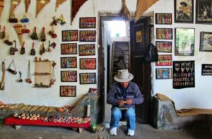 Manufacture of Andean musical instruments in Otavalo