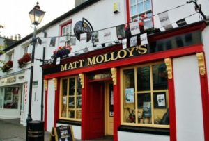 Matt Molloy's Pub in Westport in western Ireland