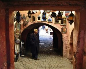 Medina of Marrakech in Morocco