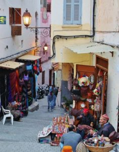 Medina of Tangier in northern Morocco