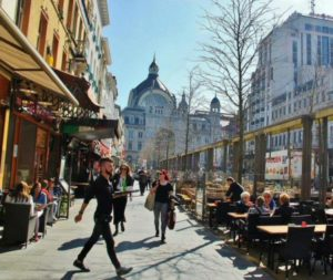 Meir Avenue in Antwerp