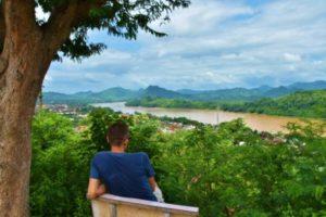 Mirador Monte Phou Si in Luang Prabang