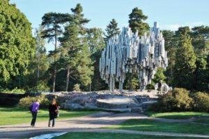 Monument to Sibelius in Helsinki