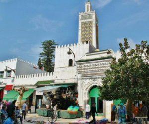 Mosque in the center of Tetouan next to the medina