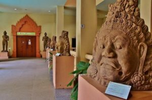 Museum in Siem Reap in Cambodia