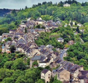 Najac in Aveyron in southern France