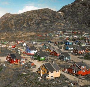 Narsaq in Greenland