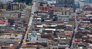 National Basilica of Quito from El Panecillo