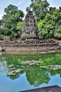 Neak Pean temple in Cambodia