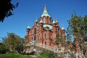 Orthodox Cathedral of Uspenski in Helsinki