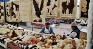 Ecuador – Walk through the artisanal market of Otavalo near Quito