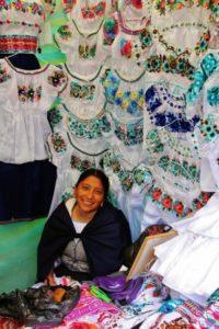 Otavalo indigenous market near Quito