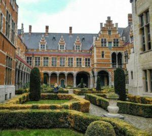 Palace of Marguerite of Austria in Mechelen in Flanders in Belgium