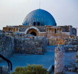 Palace of the Umayyad in the Citadel of Amman in Jordan