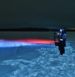 Photo tour to hunt northern lights in Rovaniemi