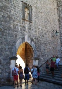Pile Gate to enter the Old City of Dubrovnik