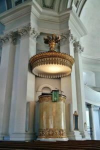Pulpit of Helsinki Cathedral