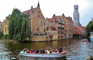 Quay of the Rosary in Bruges