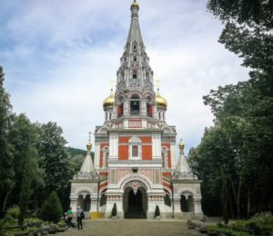 Russian Orthodox Church of Shipka in Bulgaria