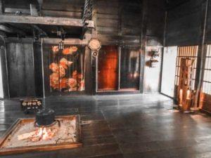 Ryokan traditional Japanese house