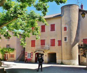 Santa Eulalia de Cernon in Occitania south of France