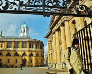 Sheldonian Theater in Oxford north of London