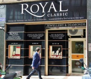 Shop in the Diamond neighborhood of Antwerp