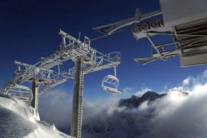 Ski lifts at Grandvalira in Andorra