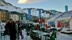 Skiing in GrandValira in Andorra