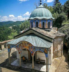 Sokolski monastery near Gabrovo in Bulgaria