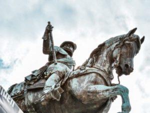 Statue of King William of Orange in The Hague