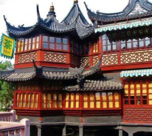 Te House in the Yuyuan Garden in Shanghai