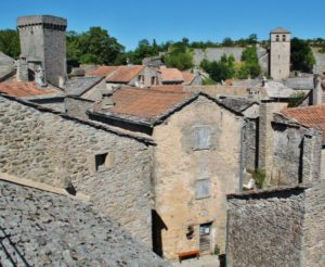 Templar village of La Couvertoirade in southern France
