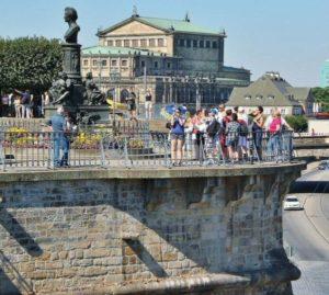 Terrace Brühl in Dresden