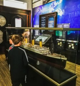Titanic Experience in Cobh near Cork in southern Ireland
