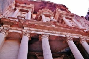 Treasury of Petra in Jordan