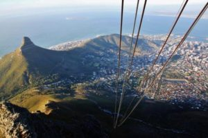 Views of Cape Town from Table Mountain