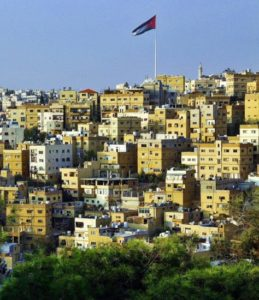 Views of downtown Amman from the Citadel
