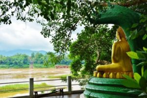 Wat Long Khoun Temple in Laos