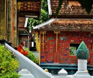 Wat Xieng Thong temple in Laos
