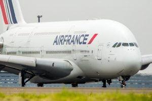 Air France A-380 plane