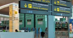 Airport of Barcelona