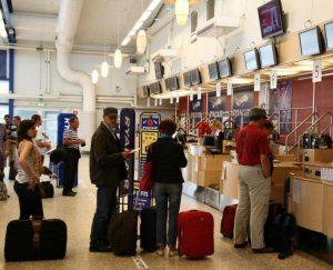 Skavsta Airport in Stockholm